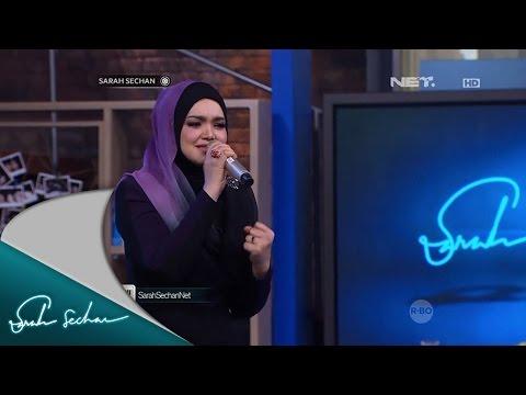 Dato' Siti Nurhaliza membawakan single Terbaik Bagimu