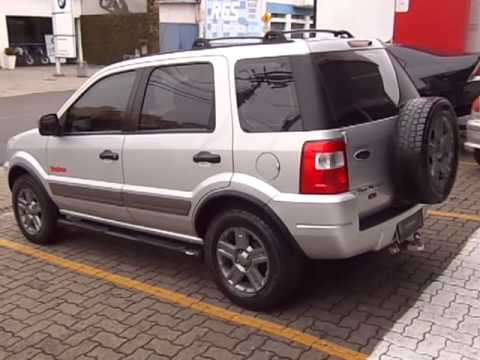 Ford Ecosport Xlt Freestyle 1 6 8v Flex 2007 Youtube