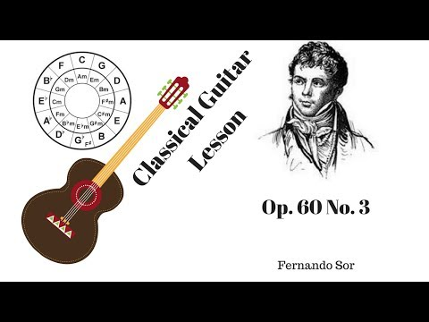 Improve Your Thumb Scales with Fernando Sor's Op 60 No 3 - Classical Guitar LIVE Lesson