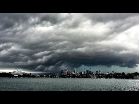 WATCH!! Freak storm rips though Sydney with tornadoes, flooding, hail, 200kph winds