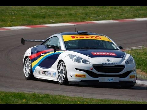 Peugeot RCZ Racing Cup 2013 - Sound, Accelerations & Anti-Lag - YouTube