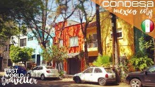 The GORGEOUS LA CONDESA and ROMA NORTE | Condominio Insurgentes and JAPANESE FOOD in MEXICO CITY!