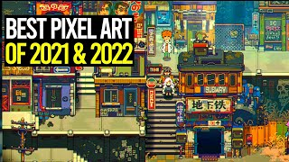 Top 25 Best Upcoming Pixel Art Games of 2021