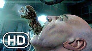 Alien Chestburster Scene 4K ULTRA HD - Пришельцы против хищника