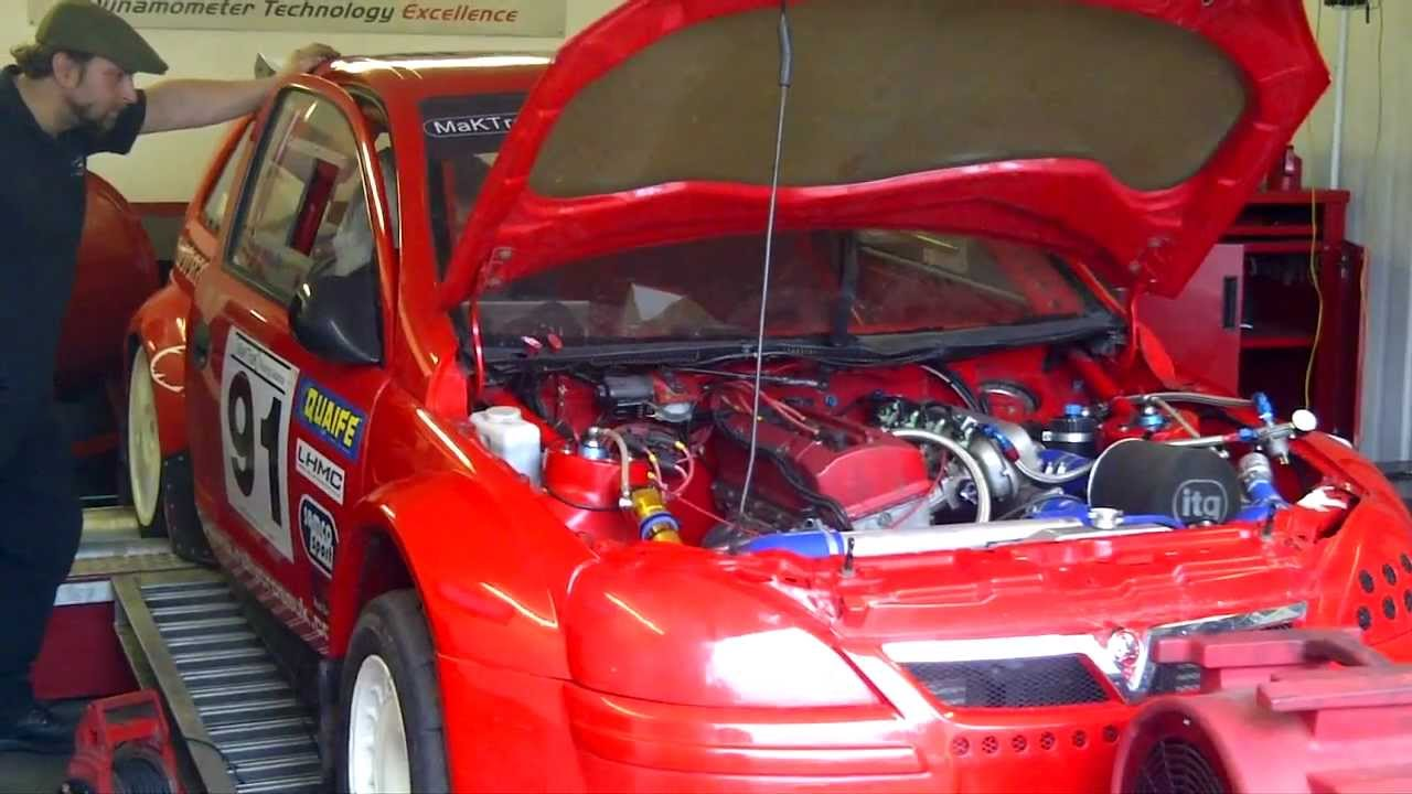 Rwd Supercharged Vauxhall Corsa C Youtube
