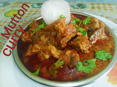 Indian Mutton curry /Dhaba style mutton curry recipe by sony's kitchen