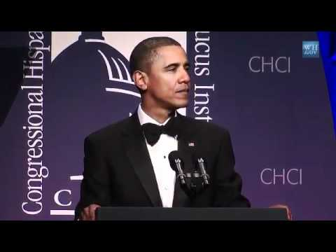 Pr.Obama - 'We hold these truths to be self-evident, that all men are created equal' - CHCI