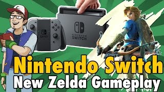 The Legend of Zelda: Breath of the Wild | NEW Switch Gameplay