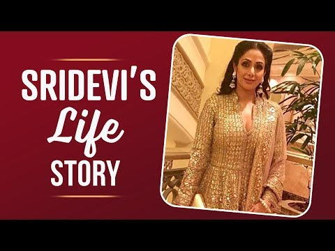 Sridevi's life in pictures | Sridevi Passes Away | Emotional Video | Pinkvilla