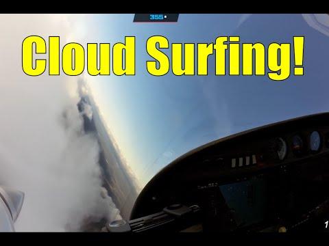 Surfing The Clouds! First Da42 Flight with Diamond Flight Academy