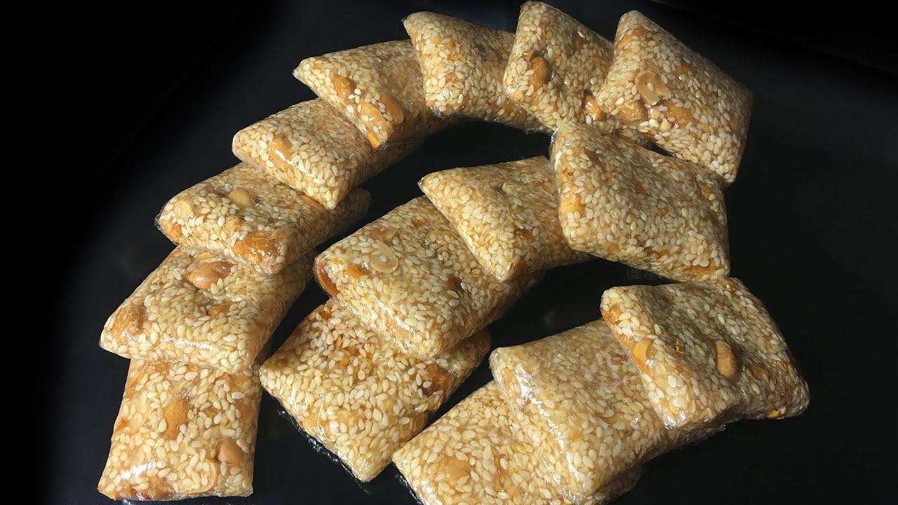 Mè Xửng Mềm Dẻo Thơm Ngon - Soft Chewy Sesame Peanut Candy