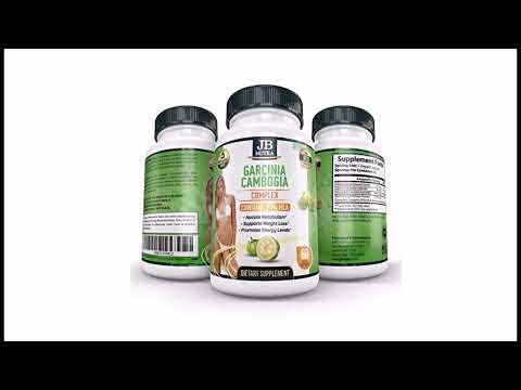 arcinia Cambogia Supplement 95% HCA Extract 60 Veggie Capsules Organic no Fillers Slimming Formula