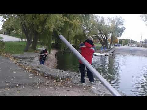 Hot Fishing Spots Around Hamilton  Rob Macdonald Catching A 13 Lbs Samlon At Bayfront Park Swearing