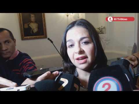 Asunción de Cecilia Salto como secretaria de Comunicación y Gobierno Abierto
