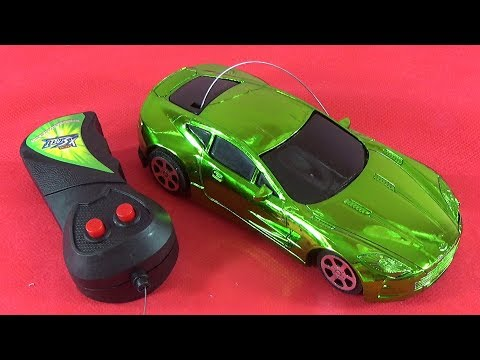 UNBOXING BEST TOYS: Remote Control Green Car RC Toy Gift Surprise For Kids