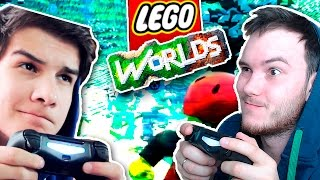ТЕСТИМ МУЛЬТИПЛЕЕР | Lego Worlds w\ Qewbite