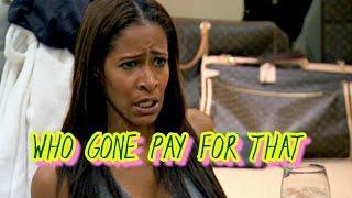 RHOA Sheree Whitfield Fined $1000 For Wild Chateau Sheree Housewarming Party