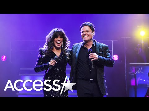 Donny And Marie Osmond Get Emotional Over Ending Las Vegas Residency After 11 Years