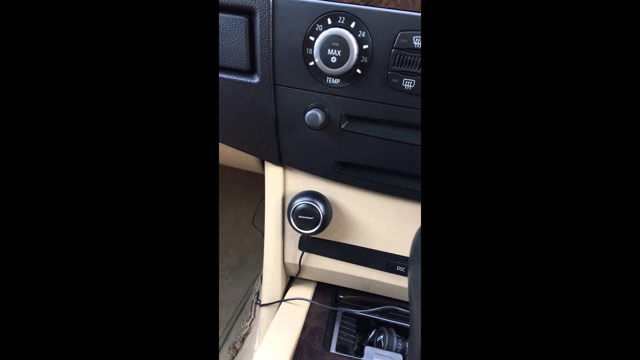 BMW E60 AUX VOLUME FIX YouTube