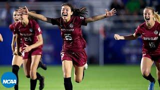 Florida State v. Santa Clara: Full PK shootout in 2020* NCAA women's soccer championship