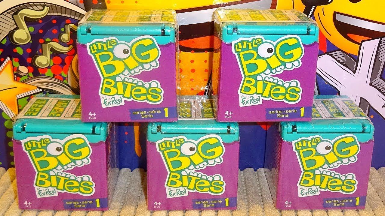Hasbro Little Big Bites Fur Real Series 1 Elephant Figure NEW