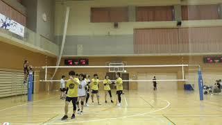 20190616練馬区混合バレー大会⑦~lakipeke vs 石東クラブ~