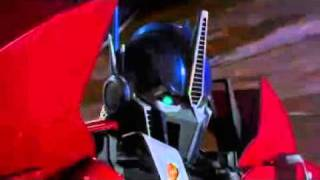 TRANSFORMERS PRIME OPTIMUS PRIME ANGEL OF DARKNESS