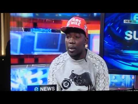 Dat Boy Mreppa on eTVSunrise  (South African Hip Hop)