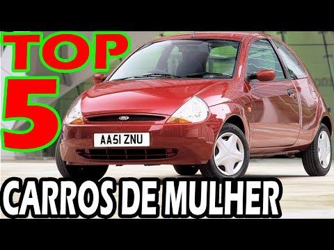 TOP 5 CARROS DE MULHER!