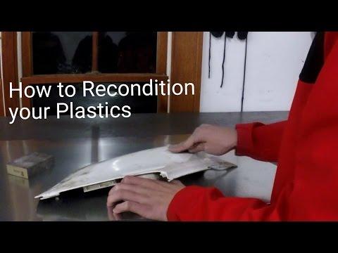 How to Recondition Dirt Bike Plastics