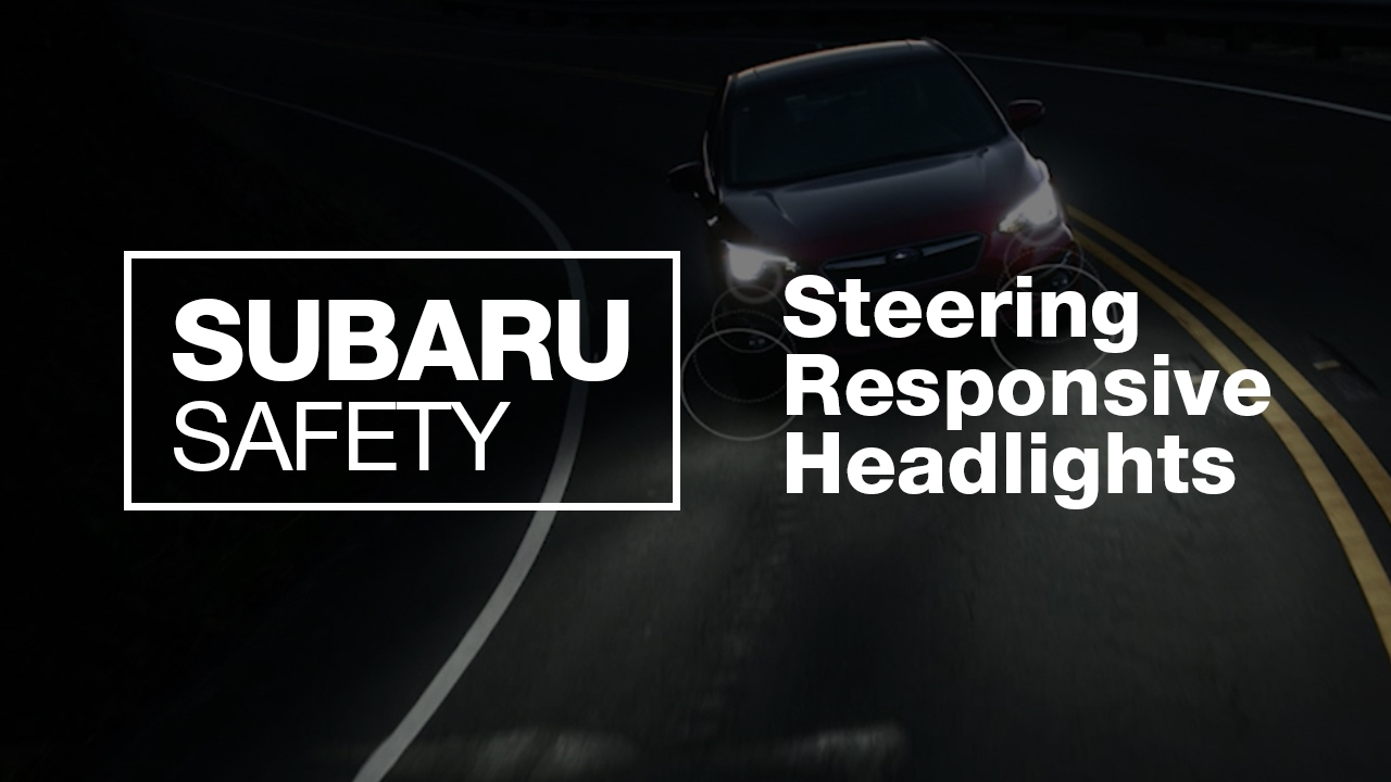 What Are Subaru Steering Responsive Headlights New 2017 Safety Feature