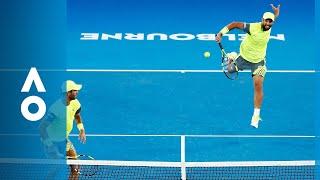 Cabal/Farah v Bryan/Bryan match highlights (SF) | Australian Open 2018