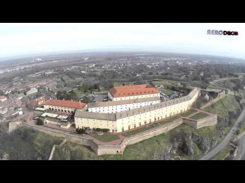 Petrovaradinska tvrdjava / Novi Sad / snimanje iz vazduha * Phantom 2 * The Petrovaradin Fortress
