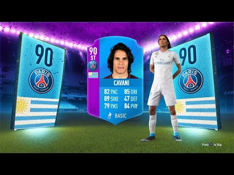 90 RATED SBC CAVANI! - LIGUE 1 SBC FIFA 18 Ultimate Team
