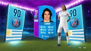 90 RATED SBC CAVANI - LIGUE 1 SBC FIFA 18 Ultimate Team