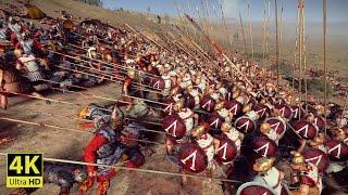 SPARTANS vs ROMANS - Total War: ROME 2 [4K Gameplay]