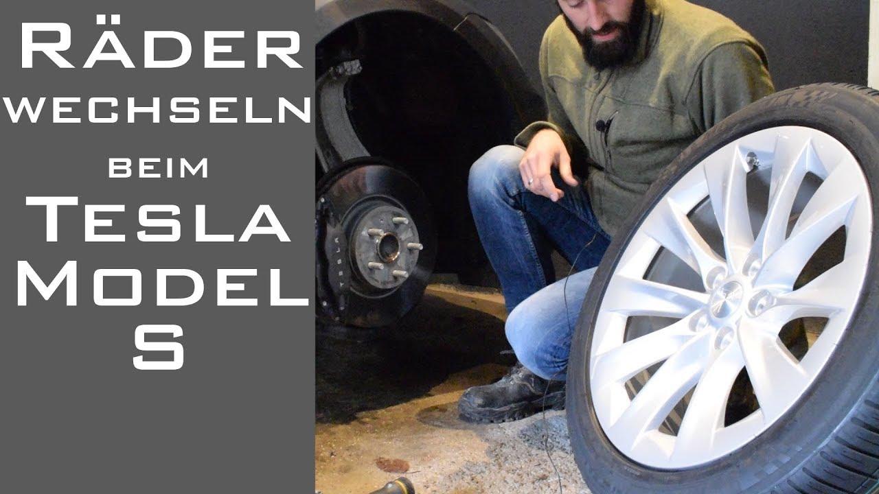 Rader Wechseln Beim Tesla Model S Das Sollte Man Beachten Strom
