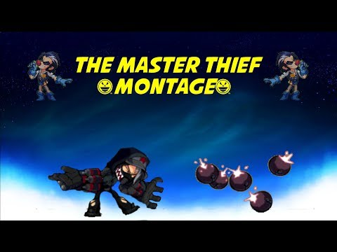 The Master Thief ~ A Brawlhalla Caspian Montage