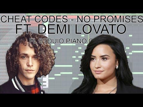 Cheat Codes - No Promises (FL Studio Piano Cover + FREE MIDI / FLP)
