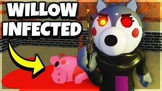 WILLOW WOLF IS INFECTED.. (Here's Why) | Roblox Piggy
