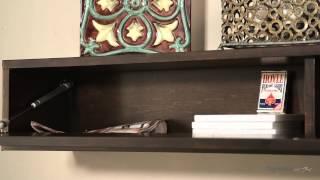 Belham Living Flip-Down Door Fireplace Mantel Shelf - Product Review Video