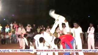 Indian Modern Martial Arts Academy - Demo by students - Master MV Ramana