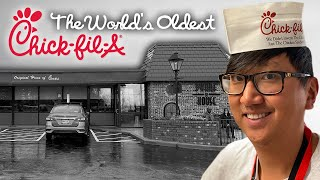 We Visit The World's Oldest Chick-fil-A // The Dwarf House
