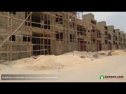 120 Sq  Yd  RESIDENTIAL PLOT FOR SALE IN SACHAL SARMAST TOWN