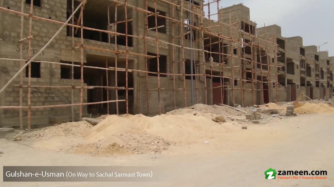 120 Sq  Yd  RESIDENTIAL PLOT FOR SALE IN SACHAL SARMAST TOWN SCHEME 33  KARACHI