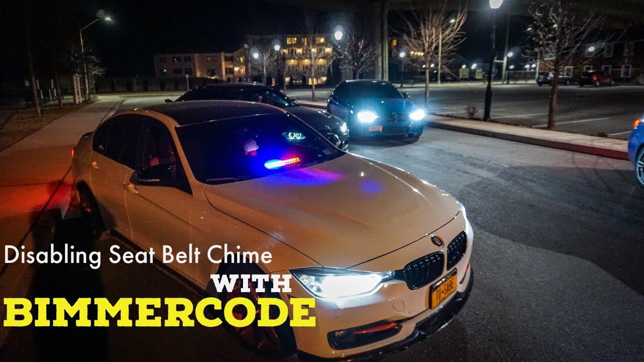 BIMMERCODE : Disabling Seat Belt Chime
