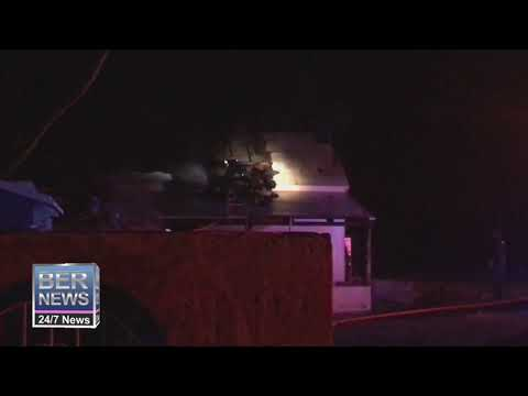 Firefighters Extinguish Fire At Old Cedar Park Store, Jan 19 2020