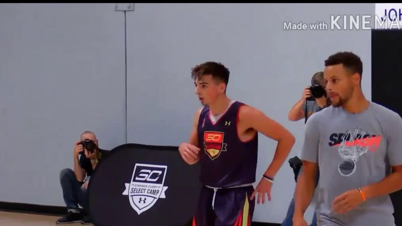 jordan mccabe and steph curry