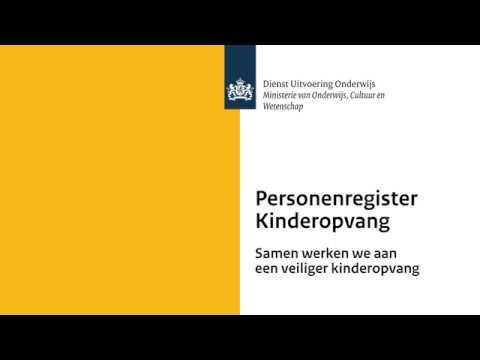 Afbeeldingsresultaat voor personenregister kinderopvang