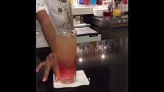 Occidental Vacation Club - Cocktail: Malibu Bay Breeze
